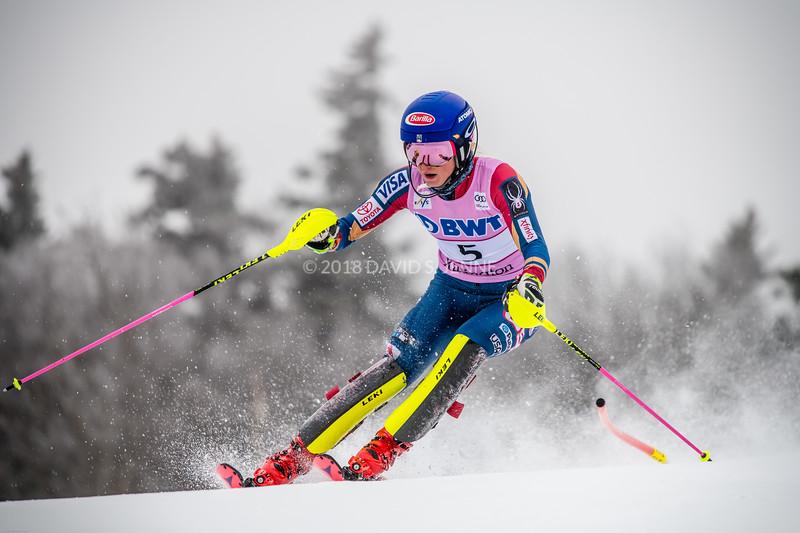 Mikaela Shiffrin USA - Audi FIS Ski World Cup Womens Slalom Killington Vt-20171126-04