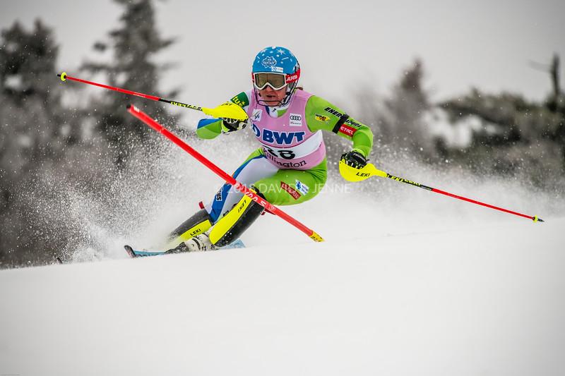 Marusa Ferk SLO - Audi FIS Ski World Cup Womens Slalom Killington Vt-20171126-06