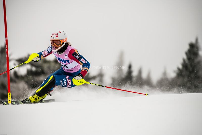 Lila Lapanja USA - Audi FIS Ski World Cup Womens Slalom Killington Vt-20171126-11