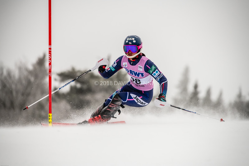 Asa Ando JPN - Audi FIS Ski World Cup Womens Slalom Killington Vt-20171126-07