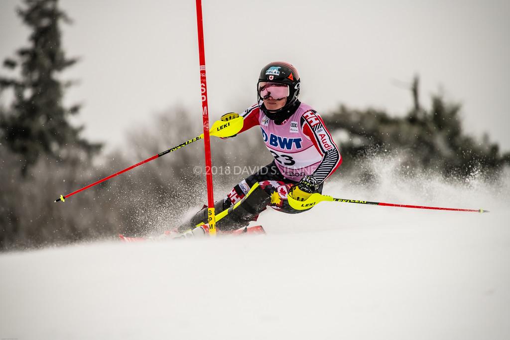 Erin Mielzynski CAN - Audi FIS Ski World Cup Womens Slalom Killington Vt-20171126-03