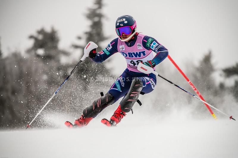 Asa Ando JPN - Audi FIS Ski World Cup Womens Slalom Killington Vt-20171126-10