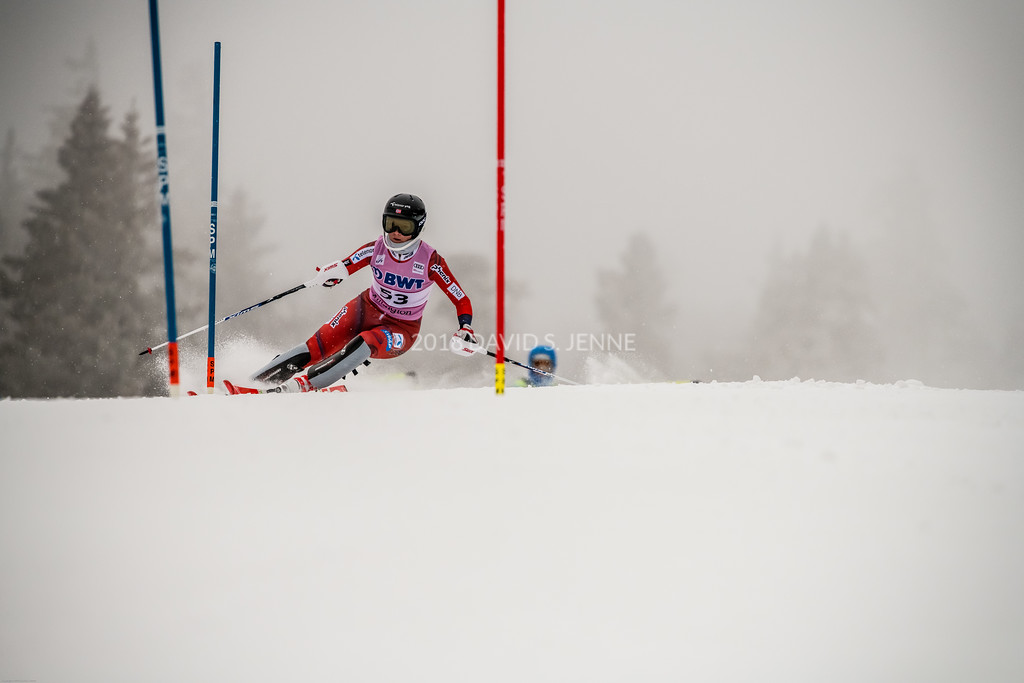 Kristin Lysdahl NOR - Audi FIS Ski World Cup Womens Slalom Killington Vt-20171126-01