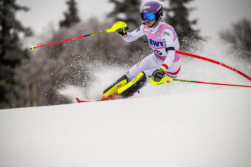 Michaela Kirchgasser AUT - Audi FIS Ski World Cup Womens Slalom Killington Vt-20171126-07