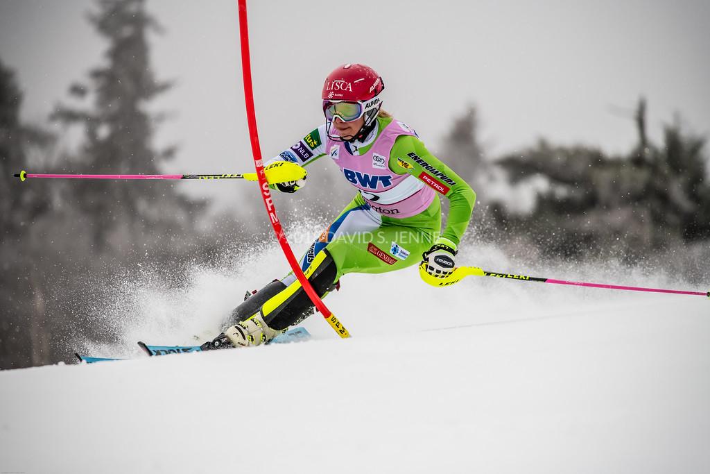 Ana Bucik SLO - Audi FIS Ski World Cup Womens Slalom Killington Vt-20171126-02