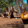 A Himba village.