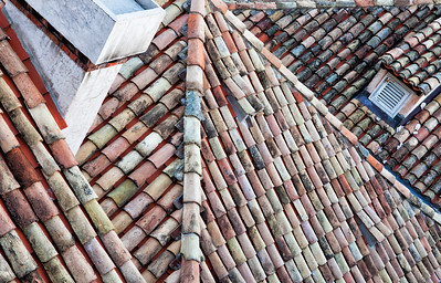 Pastel Rooftops