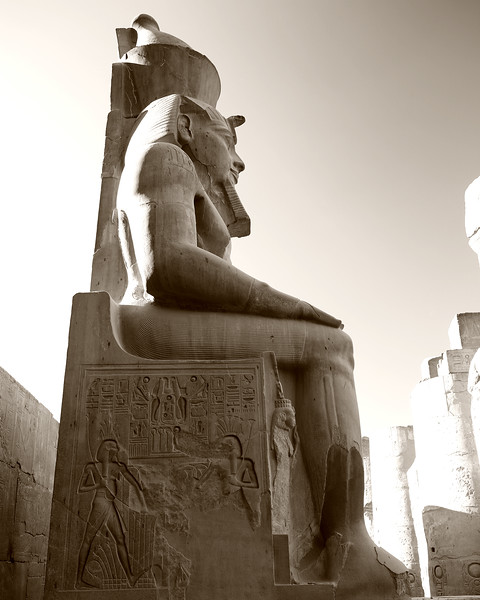 The Seated Pharaoh