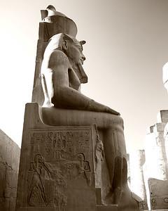 The Seated Pharaoh