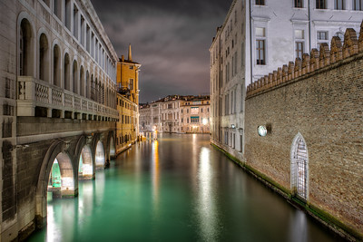 On A Quiet Venetian Night