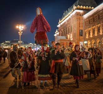 Parade in Red Square