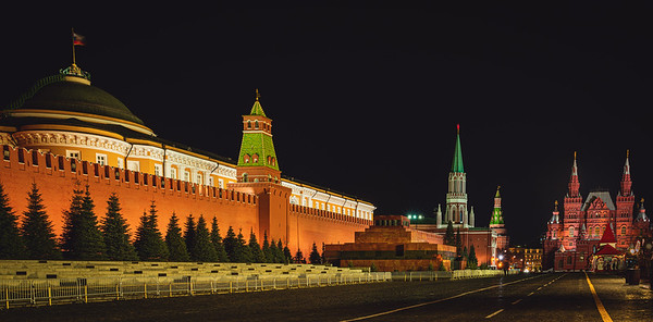Red Square - The Kremlin and Lenin's Tomb