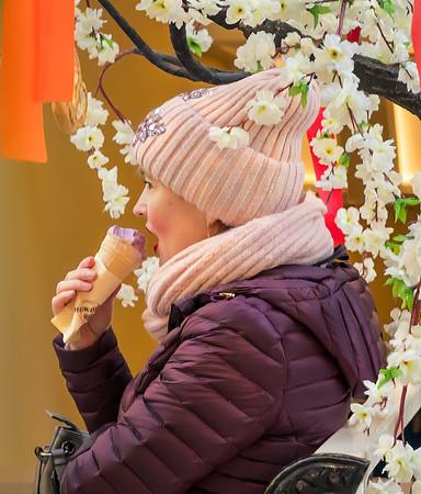 Rozhok Ice Cream at the GUM store