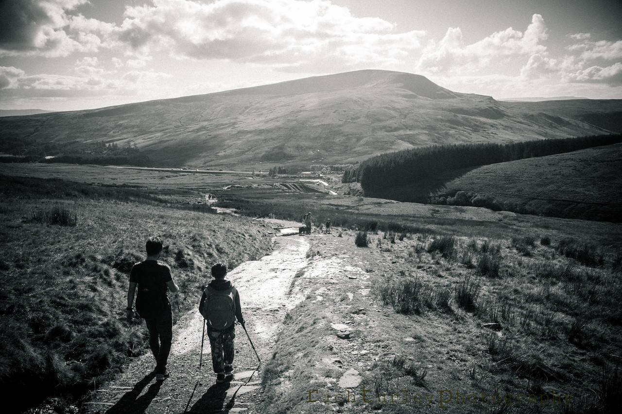 Brecon Beacons - the last leg