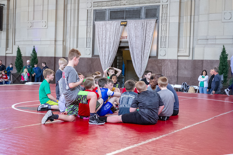 Youth Clinic with J'Den Cox
