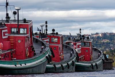 Tugboats Three