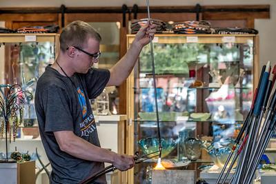 Glass Artist Extraordinaire