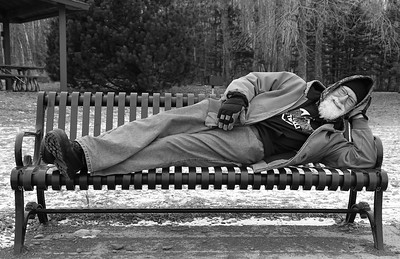 Relaxing Photographer