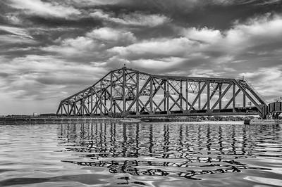 Rotating Railroad Bridge