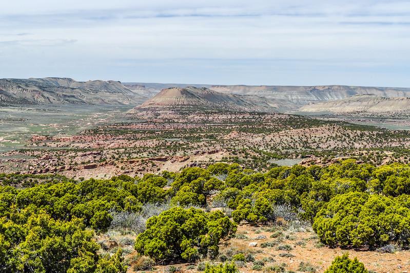Arid Wyoming Landscape