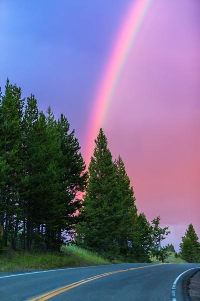 Yellowstone Rainbow (on the go)