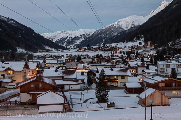 Pettneu valley, early morning