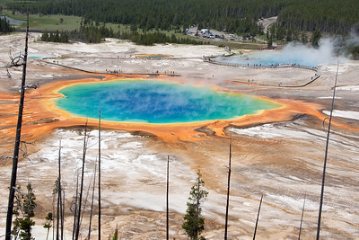 """The Grand Prismatic Spring"" - Yellowstone National Park, Wyoming"