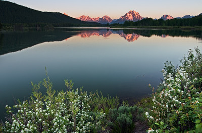 """Sunrise at Oxbow Bend"" - Grand Teton National Park, Wyoming"