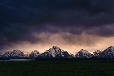 """Teton Drama"" - Grand Teton National Park, WY"