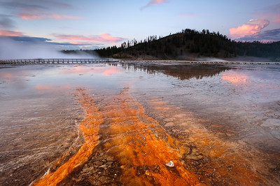 """Grand Prismatic Flavors"" - Yellowstone National Park, WY"