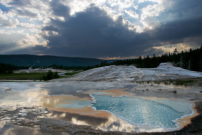 """Reflecting the Depths"" - Yellowstone National Park, Wyoming"