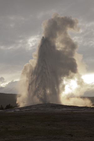 Old Faithful, Eruption