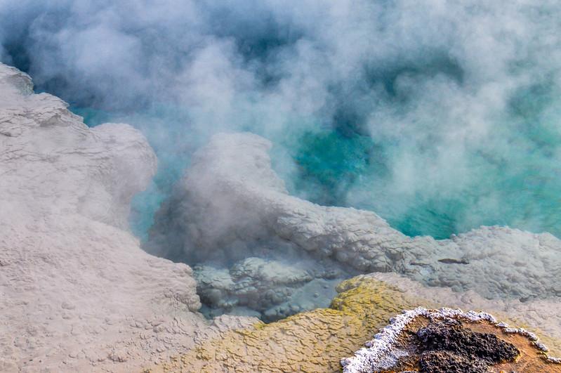 Yellowstone Lake Thermal Pool