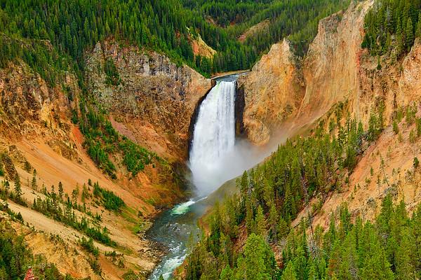 Item# 3151- Yellowstone Falls