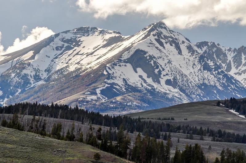 High Mountain Peaks of Yellowstone