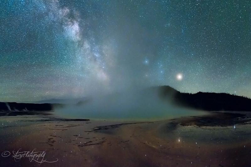 Alien planet earth - Yellowstone NP, 2016