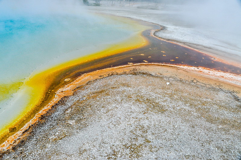 Streaming Colors of Yellowstone