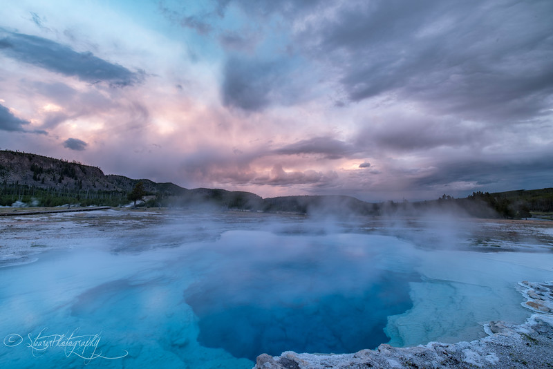 Blue hole II - Yellowstone NP, 2016