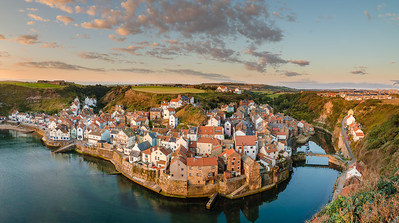 Staithes from Cowbar Nab