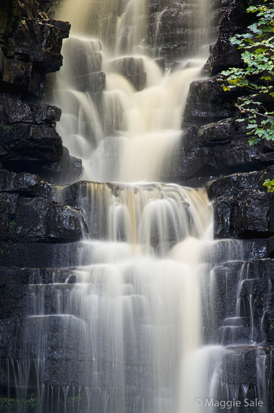 Mill Gill waterfall near Askrigg, Wensleydale