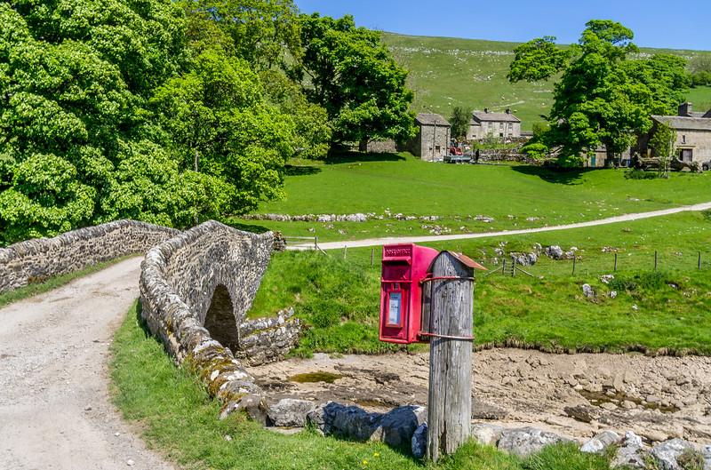 Post box at Yockenthwaite, Langstrothdale