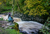 Fishing in Ribblesdale near Settle