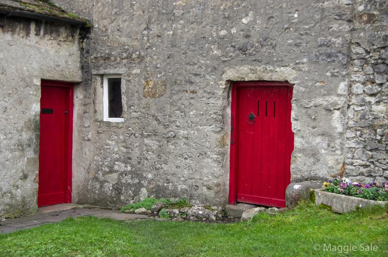 Doors in Malham