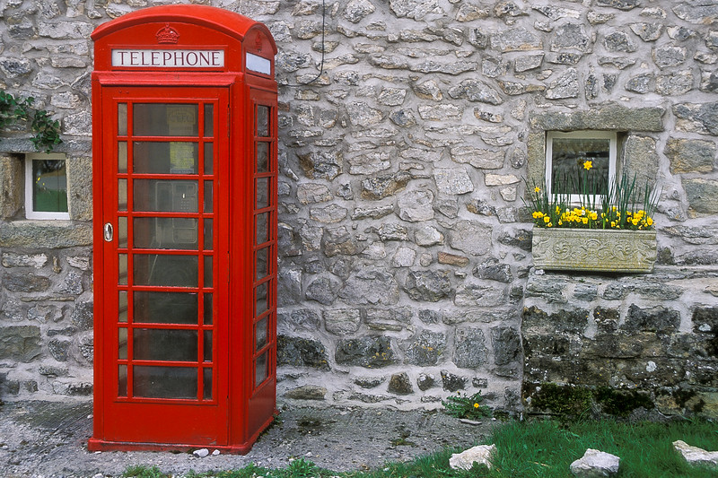 Phone booth in Wharfdale