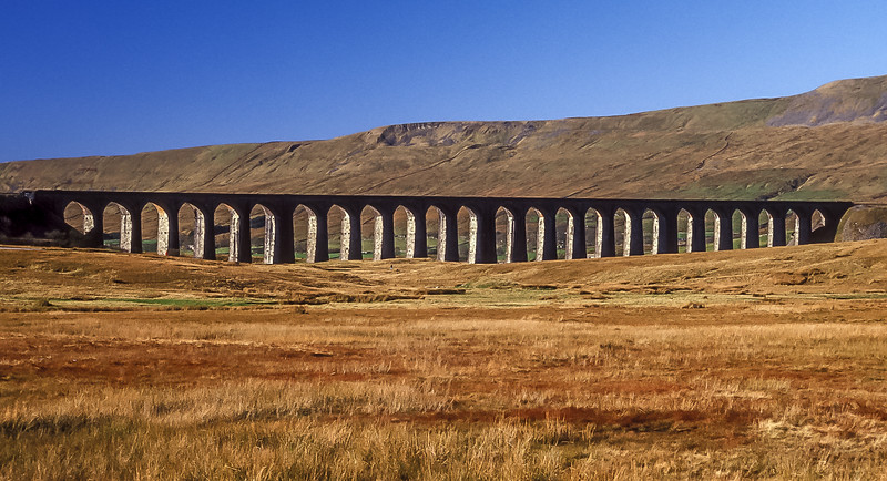 Ribblesdale Viaduct in the Autumn