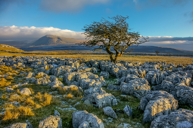 Scalesmoor and Ingleborough - Yorkshire's highest mountain