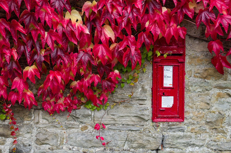 Mail box in Swaledale