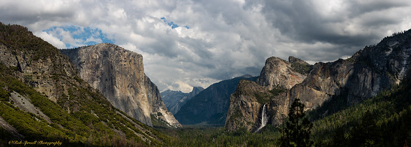 Tunnel View - Pano