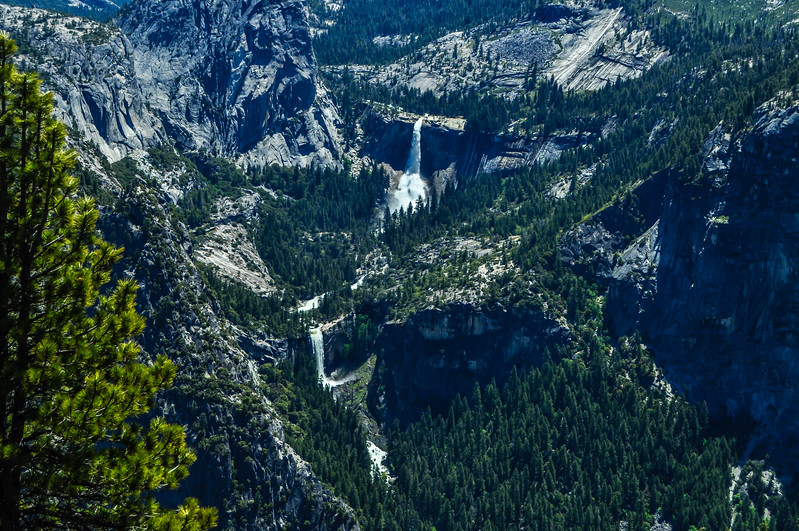 Powerful Nevada Falls