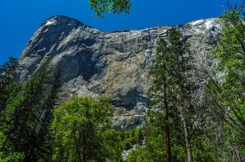 Sheer Granite Wall of El Capitan